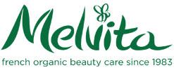 アルガンオイルの有名メーカー「メルヴィータ」のロゴ